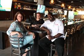 a new heights bar and restaurant brings a new orleans flair get the harold s tap room team owner alli jarrett bar manager lauren muse and executive