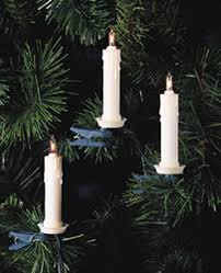 Kurt Adler Christmas Tree Candle Lights Kurt Adler 10 Light Clip On Candle Light Set Ul0073 Amazon