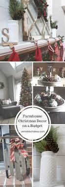 Farmhouse Christmas| Christmas Decor| Cheap Christmas Ideas| Christmas  Decorations| Fixer Upper Style