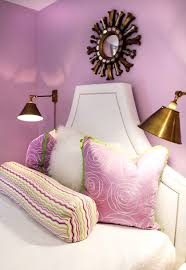 lavender wall paintLavender Girls Bedroom  Contemporary  girls room  Lucy and