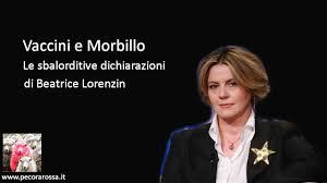 Incredibile cosa riesce a dire la Lorenzin sul morbillo Ascoltate.