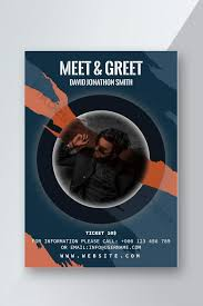 Meet And Greet Flyers Templates Meet Greet Flyer Templates Template Ai Free Download