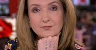 The victoria derbyshire show was axed just three weeks ago, and the host has now demanded the decision gets reversed. As Domestic Violence Surges Bbc Journalist Anchors News With Hotline Written On Her Hand Cbs News