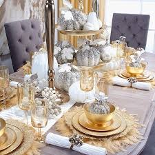 40 Gorgeous Table Settings For Christmas That You Will Love Magnificent Dining Room Table Settings Decoration