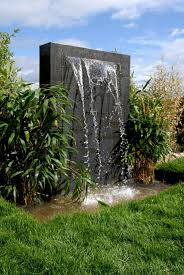 Small Picture outdoor wall fountain install large stone at bottom before water