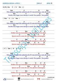Acordes, letra y tablatura de la canción atos 2 de gabriela rocha. Cifra Simplificada Gospel Para Teclado Atos 2 Gabriela Rocha Versao Simplificada Com Modelos D Cifras Simplificadas Cifra Simplificada Gospel Cifras Violao