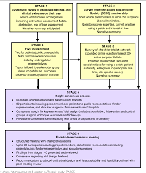 Feasibility Study Process Flow Chart Figure 1 From Patch Augmented Rotator Cuff Surgery Parcs