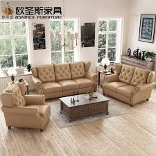 brown leather sofa sets. Simple Sets Latest Sofa Set Designs 6 Seater American Style Chesterfield New Antique  Furniture Vintage Brown Leather Price F80A Inside Brown Leather Sofa Sets F