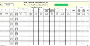 Stock Sheet Template List Spreadsheet Inventory Control
