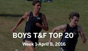 Boys track and field: Top 20 for Week 1, April 8 - nj.com