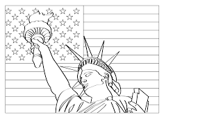 Small Picture of liberty coloring page