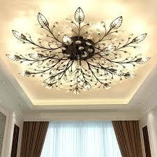 gold light fixtures modern crystal led flush mount ceiling chandelier lights fixture gold black home lamps for living gold light fixtures uk