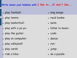 What Is Your Hobbies What Are Your Hobbies Under Fontanacountryinn Com