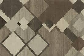 Interior Designs Sleek Diamond Pattern Rug On The Modern Wall In