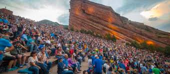 Red Rock Amphitheater Seating Chart Las Vegas Fall In Love With Red Rocks Ampitheatre Visit Denver