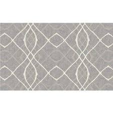 washable amara grey 3 ft x 5 ft area rug