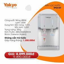 Yakyo Bình Triệu chuyên máy làm mát và máy lọc nước nóng lạnh Yakyo. - Home