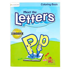 Practice the letters from a to z with this free preschoolers will work on letter recognition through tracing and coloring. Preschool Prep Company Meet The Letters Coloring Book 56 Pages Grades Prek 1 Mardel 9780982033104