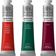 Wholesale Winsor And Newton Winton Oil Colors 200ml Tubes