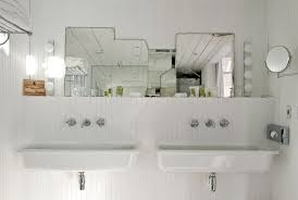 Bathroom  Design Ideas Bathroom Sloping White Porcelain Trough - Hand dryers for bathrooms