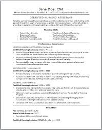 Best Resume CNA No Experience - http://jobresumesample.com/713/