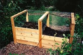 diy backyard compost bin homemade outdoor compost bin