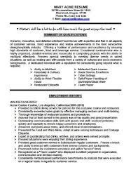 ... Extremely Ideas Waiter Resume Sample 15 Skills Resume Examplesexample  Of Cv Science Research Paper ...