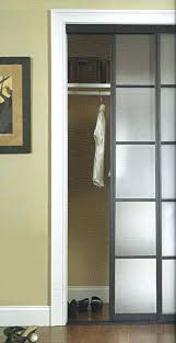 install sliding closet doors door floor guide fix off track installing for bedrooms