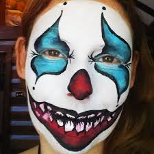 Scary Pumpkin Painting How To Face Paint A Scary Clown Facepaintcom