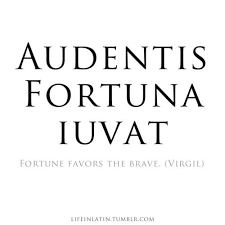 Latin Quotes About Friendship Simple Audentis Fortuna Iuvat Which Means Fortune Favors The Brave