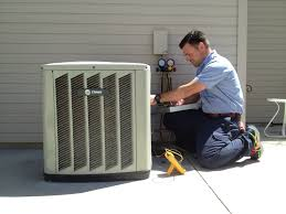 central air conditioner service technician
