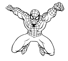 Each spiderman printable coloring page is available for free personal use as of the date of this writing. Spiderman Superheroes Printable Coloring Pages