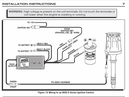 msd 6al wiring diagram hei efcaviation com msd 6425 wiring harness at Msd 6al Wiring Harness