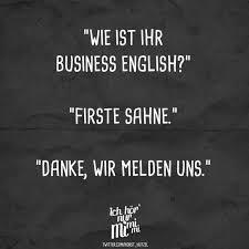 Wie Ist Ihr Business Englisch Firste Sahne Danke Wir Melden