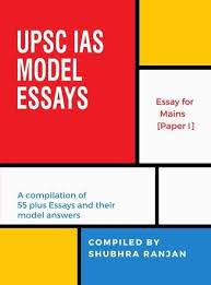 the book on essays upsc ias model shubhra ranjan ias study  no automatic alt text available