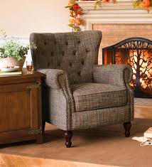 upholstered wingback chair.  Wingback Madison Upholstered Wingback Chair With G