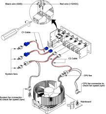 fan speed controller. zalman zm-mfc1 multi fan speed controller - installation diagram d