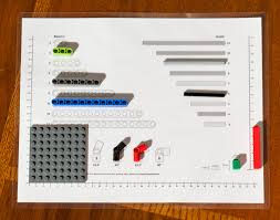Chart Of Lego Pieces Lego Ruler And Sorting Tool Tom Alphin