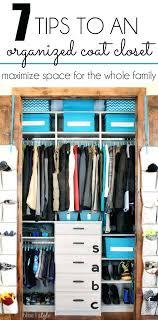 coat closet organization deep ideas systems