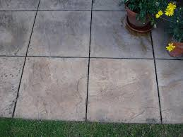 image of paving slab paint cleaned