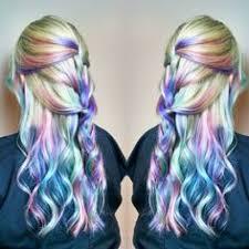 Subtle Blue Highlights 30 Different Wavys To Rock Pastel Hair Color Subtle Highlights