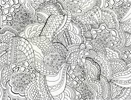 Small Picture Coloring Pages Adults Difficult Abstract Gekimoe 83131