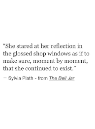 she stared at her reflection to make sure she continued to  inspirational ·