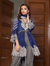 Lawn Crystal – Printed Textile Faisalfabrics pk Ittehad Suit Cl-3501b 3 Piece