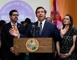florida governor cabinet begin trade