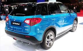 2018 suzuki vitara facelift. exellent suzuki 2018 vitara suv rear view throughout suzuki vitara facelift
