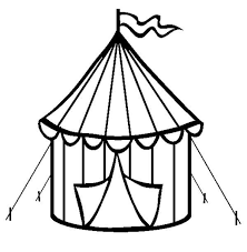 Small Picture Circus Tent Coloring Page Coloring Sun