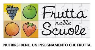 Risultati immagini per logo frutta nelle scuole