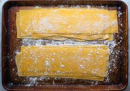 homemade lasagna noodles quick and