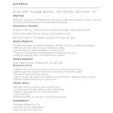 Phlebotomy Resume Example Resume Phlebotomist Cv Template – Resume ...